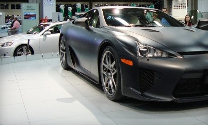 Half Off Dallas Auto Show Tickets Dallas Auto Show Groupon - Dallas car show