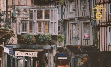 Dinan : 1 ou 2 nuits avec pdj, cidre et dégustation de spécialités bretonnes au Challonge Hôtel pour 2 personnes