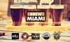 Florida International University (FIU) - University Park: Admission for One, Two, or Four to Brew Miami at Taste of Florida International University (FIU) (Up to 37% Off)