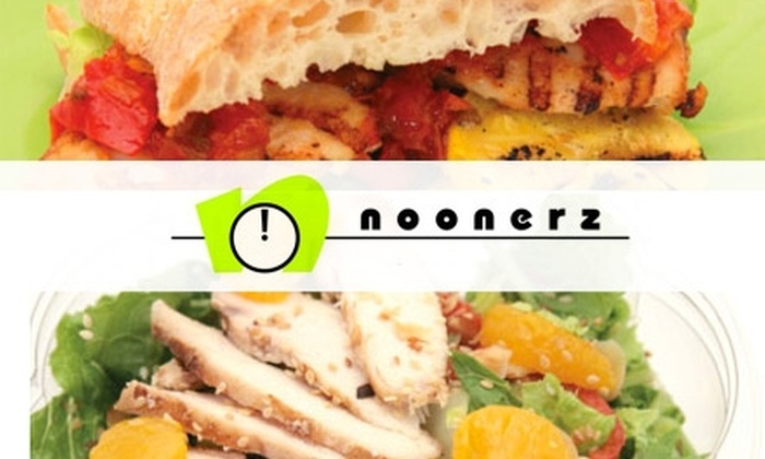 Noonerz - Laguna Hills: $10 for $20 Worth of Sandwiches and More at Noonerz