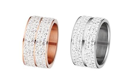 1 o 2 anillos Elyna de oro de 18 quilates