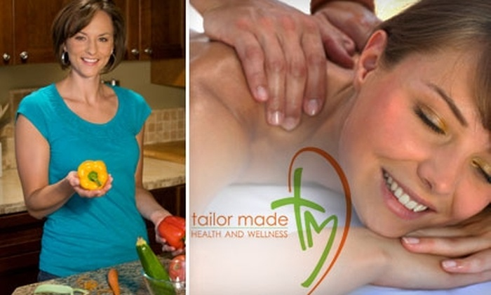 Tailor Made Health and Wellness - Tuckahoe: $49 for 50-Minute Nutritional Consultation and $25 Massage Gift Card at Tailor Made Health and Wellness