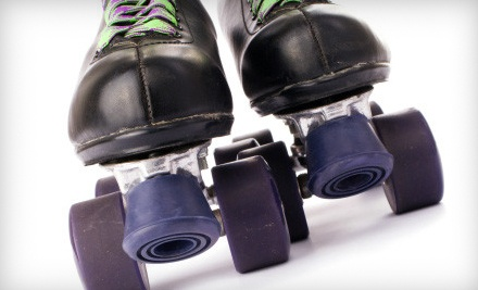 Skate Package for 2 Valid FridaySunday (up to a $23.50 value) - Sumner Skate Zone in Gallatin