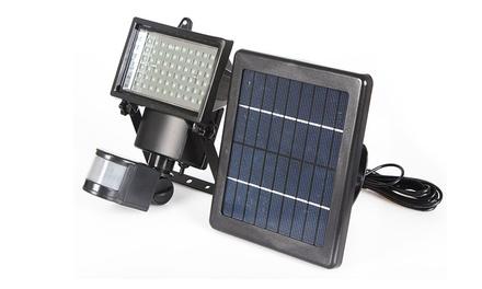 $59 for a 60-LED Motion Sensor Solar Security Floodlight