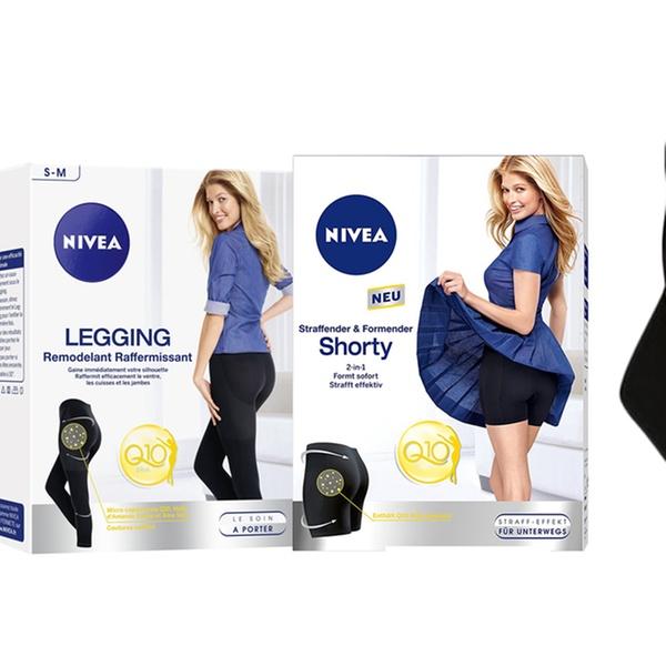 nuovo di zecca bad08 b7554 1 o 2 leggings e short snellenti Nivea Q10 Plus disponibili in 2 taglie