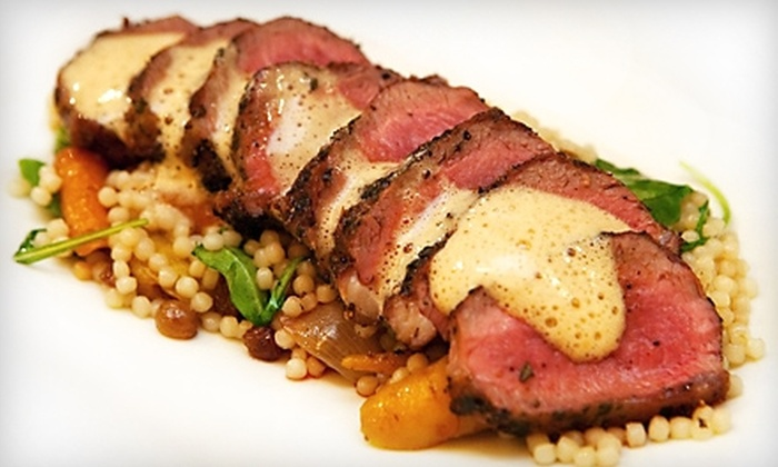 Oro - Toronto: $30 for $60 Worth of Fine Dining and Drinks at Oro