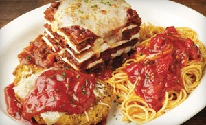 $10 For $20 Worth Of Italian Food At Johnny Carinos