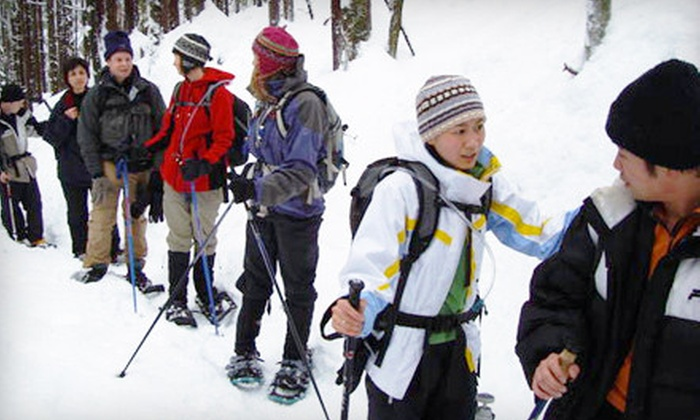 Toronto Adventures - Toronto: $30 for Introduction to Snowshoeing Lesson and Guided Humber Valley Tour from Toronto Adventures ($60 Value)