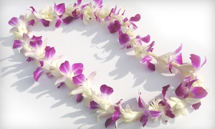 Hawai'i General Store & Gallery - Wallingford: $7 for One Fresh Floral Lei at Hawai'i General Store & Gallery ($15.95 Value)