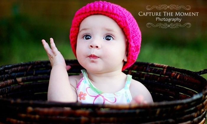 "Capture the Moment Photography - Montgomery: $49 for One-Hour On-Location Photography Session, One 8""x10"", Two 5""x7""s, and Eight Wallet-Sized Photos Plus One Low-Resolution Digital File at Capture the Moment Photography"