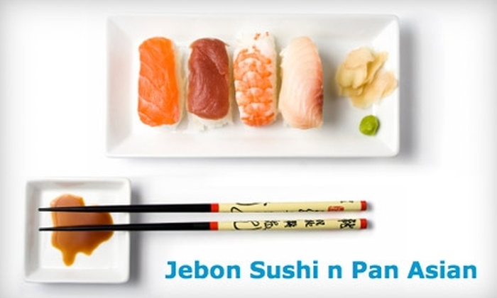 Je'Bon Sushi & Noodle - East Village: $20 for $40 Worth of Asian Cuisine and Drinks at Je'Bon Sushi and Noodle on St. Marks Place