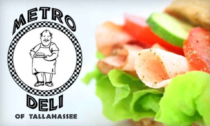 Metro Deli - Downtown Tallahassee: $7 for $15 Worth of Sandwiches, Drinks, and More at Metro Deli