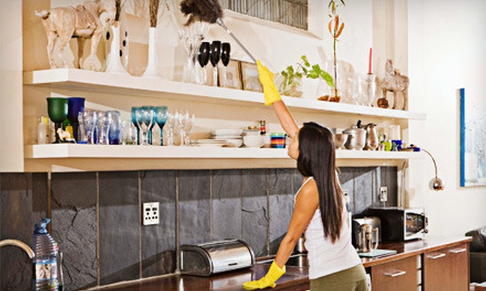Kathy Clean - Multiple Locations: One or Two Four-Man-Hour Housecleaning Sessions from Kathy Clean (Up to 60% Off)
