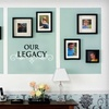 Half Off Wall Decals from Lacy Bella Designs