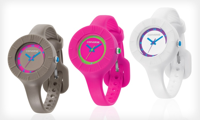 Converse Skinny Silicone Women's Watch: $17.99 for a Converse Skinny Silicone Women's Watch ($65 List Price). Multiple Colors. Free Shipping and Returns.