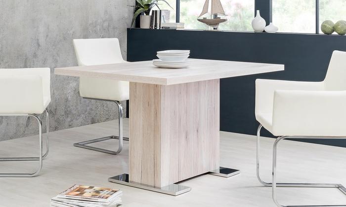 Tavolo con gamba centrale | Groupon Goods