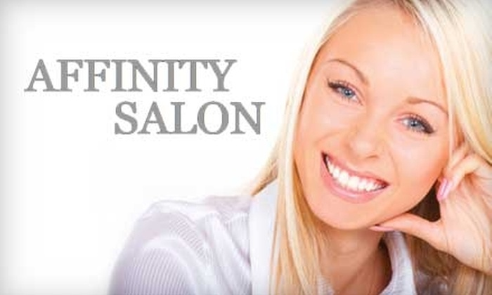 Affinity Salon - Coronado Area: $59 for Teeth Whitening at Affinity Salon