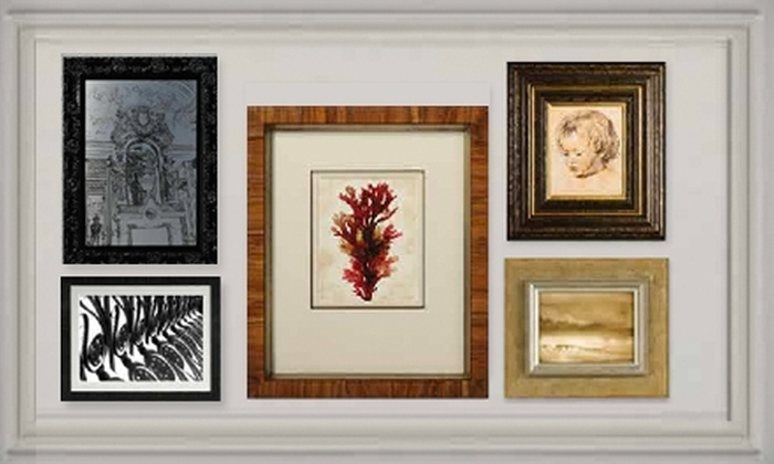 The Great Frame Up - Irvine: $45 for $100 Worth of Custom Framing at The Great Frame Up