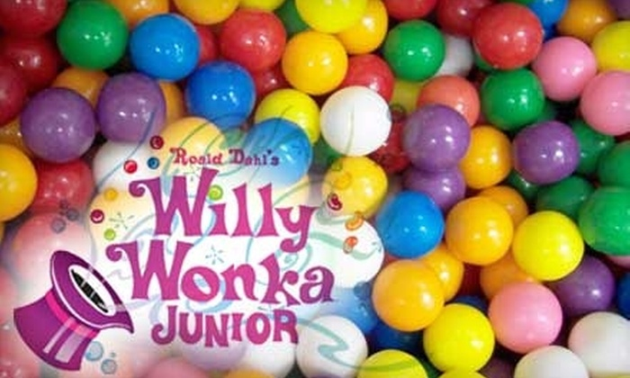 """Bottle Tree Productions - Downtown Kingston: $6 for One Ticket to Bottle Tree Productions Performance of """"Willy Wonka Jr."""" ($12 Value)"""