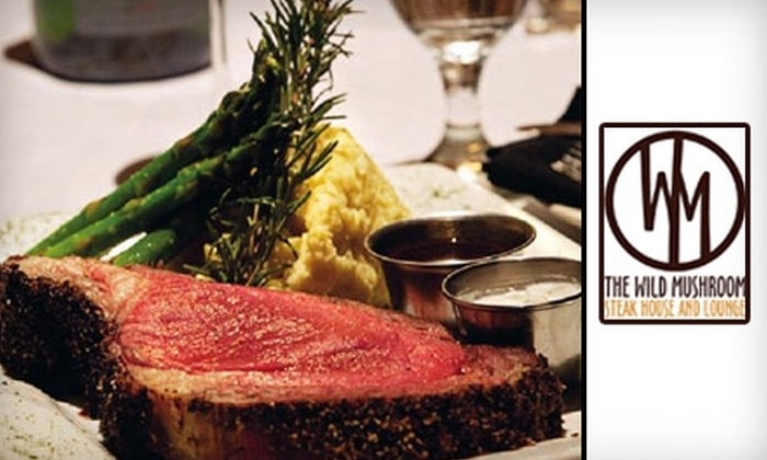 Wild Mushroom Steak House - Weatherford: $35 for $70 Worth of Contemporary American Fare at the Wild Mushroom Steak House
