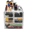 Sorbus X-Large Makeup Storage Case Displays