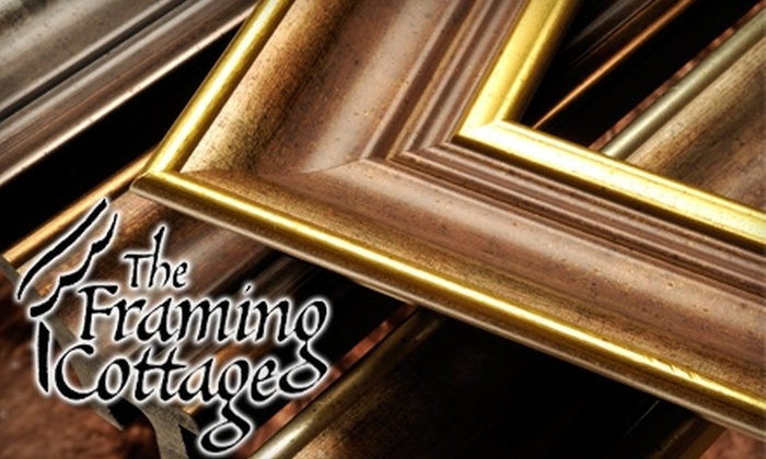 The Framing Cottage - Green Bay: $25 for $50 Worth of Custom Framing at The Framing Cottage