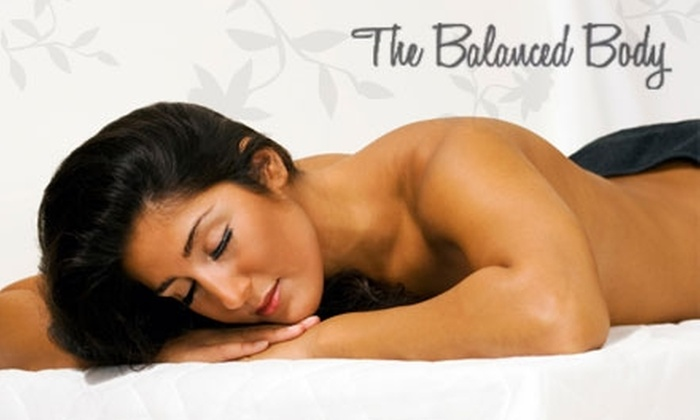 The Balanced Body Therapeutic Massage - Downtown San Jose: $35 for 60-Minute Massage at The Balanced Body Therapeutic Massage