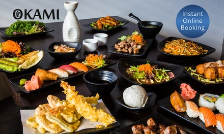 AllYouCanEat Japanese $55.50 or 6 People $163 at Okami Japanese RestaurantFootscray Up to $226.80 Value