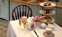 Savoury Afternoon Tea with an Optional Glass of Champagne for Two or Four at The Grange Manor Hotel