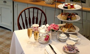 Rosie's Tea Room at the Grange Manor: Afternoon Tea for Two or Four with Optional Sparkling wine at The Grange Manor Hotel (Up to 50% Off)