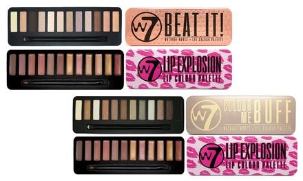 W7 Lidschatten & Lip Explosion Make-up-Palette nach Wahl (29% sparen*)