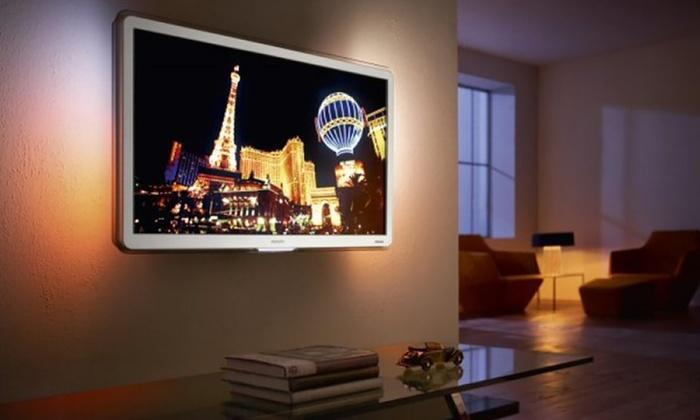 Lampe led pour r tro clairage tv groupon shopping - Kit de retroeclairage led pour tv ...