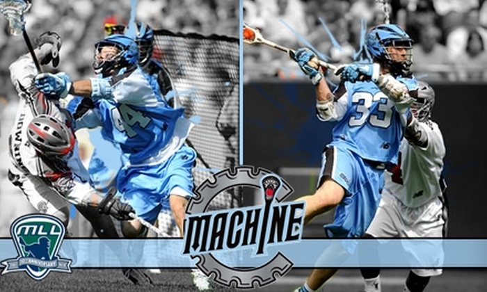 Chicago Machine - Virginia Beach: $10 Ticket to Major League Lacrosse: Chicago Machine vs. Boston Cannons on Sunday, June 20, at 2:30 p.m. ($20 Value)