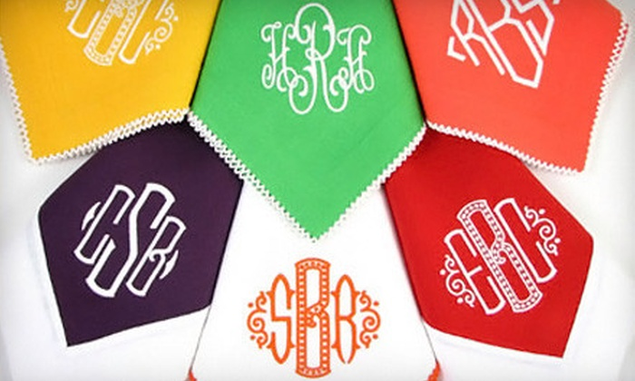 The Monogram Studio - Downtown Greenwich: Monogramming Services or Monogrammed Gifts from The Monogram Studio (Half Off)
