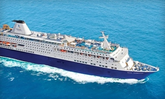 Celebration Cruise Line - Riviera Beach: Cruise for Two or Cruise and Stay in a Bahamas Resort for Two from Celebration Cruise Line