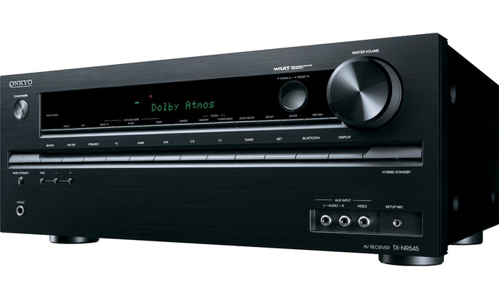 Onkyo 805W 7.2-Channel Network Receiver with Built-In Dolby Atmos, Bluetooth, WiFi & 4K UltraHD Premium Entertainment