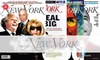 """""""New York"""" Magazine - Clinton: $13 for 54 Issues of """"New York"""" Magazine (up to $24.97 Value)"""