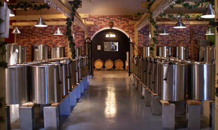 The Wine Garden Warehouse Winery - Multiple Locations: $75 for a Winemaking Experience at The Wine Garden Warehouse Winery ($150 Value). Four Locations Available.