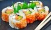 Tsukiji Sushi Bar & Restaurant - Mill Valley: $25 for $50 Worth of Sushi, Drinks, and More at Tsukiji Sushi Bar & Restaurant in Mill Valley