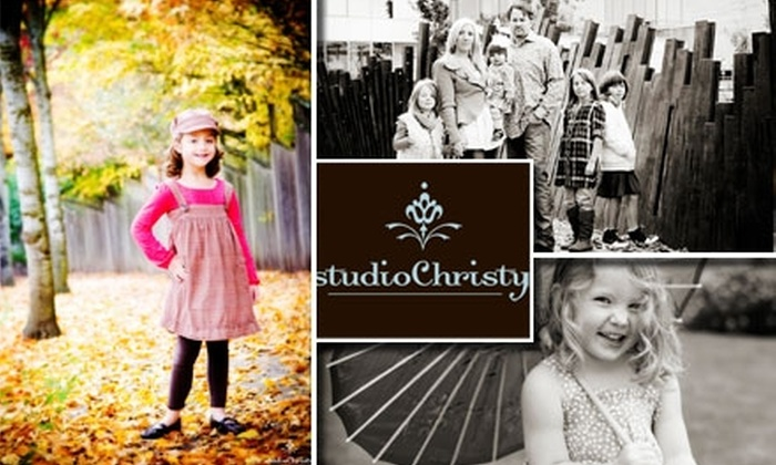 Studio Christy - Willamette: $65 for a One-Hour Photo Shoot With Digital Slideshow and Prints From Studio Christy ($470 Value)