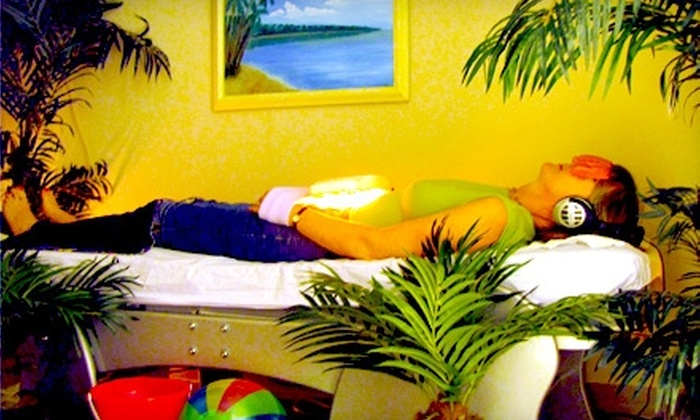 Like a Day at the Beach - Southridge Shopping Center: $14 for one 40-Minute Jade Thermal Bed Massage at Like a Day at the Beach ($29 Value) in Overland Park