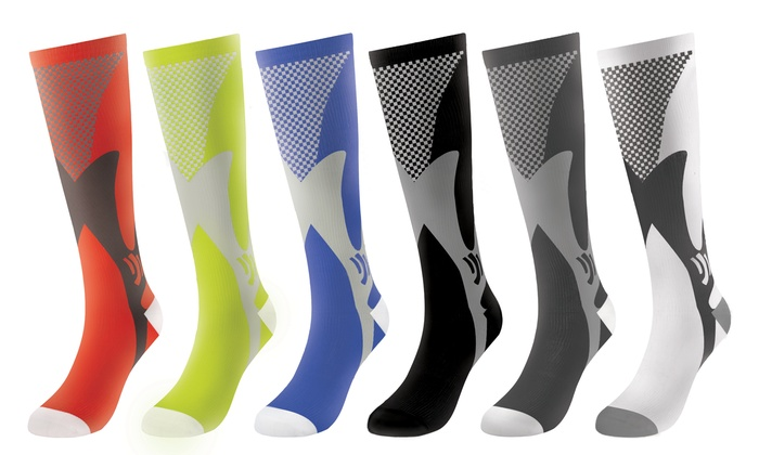8893ce18a5 Up To 53% Off on Compression Socks (6-Pack) | Groupon Goods