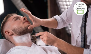 Mr. Hair Club: Mr. Hair Club - Copacabana: barba ou corte (opção com os dois procedimentos)