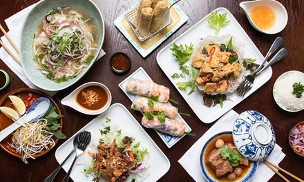 Vietnamese Dinner $39 Ppl, $45 to Add Sake or $77 Ppl, $89 to Add Sake at Than Nuong Up to $170 Value