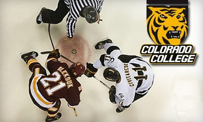 Two Tickets to the Colorado College Tigers vs. Rensselaer Polytechnic Institute Engineers Hockey Game (Up to $30 Value). Choose from Three Seating Options and Two Dates.