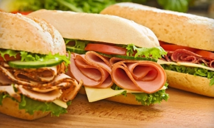 Our Town Deli - Kentwood: $5 for $10 Worth of Sub Sandwiches and Sides at Our Town Deli
