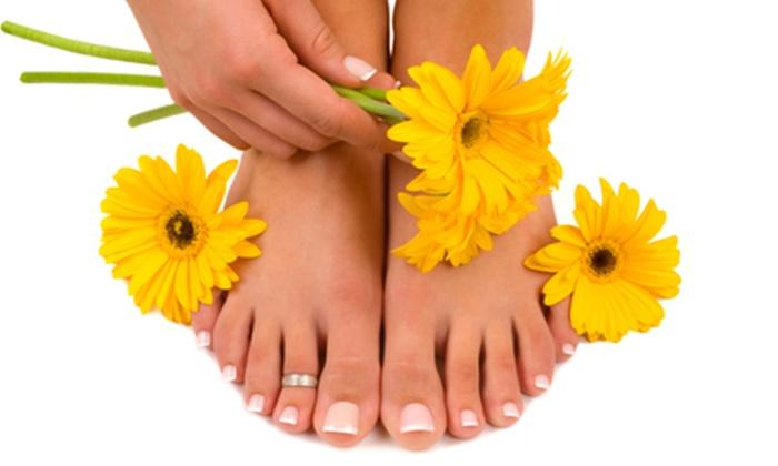 Hands Feet & Beyond - Baymeadows Center: Medicure or Mini Manicure and Pedicure at Hands Feet & Beyond