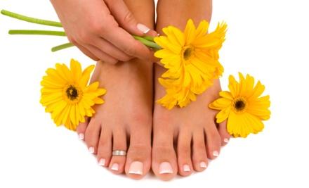 Mini Manicure & Pedicure (a $48 value) - Hands Feet & Beyond in Jacksonville