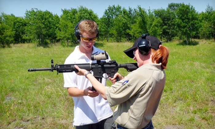 Extreme Defensive - Dallas: Pistol and Rifle Shooting-Range Package with Lesson, Equipment, and Ammo for One or Two at Extreme Defensive in Royse City (Up to 74% Off)