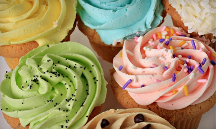 Old Mill Bakery Café - Catonsville: One or Two Dozen Cupcakes at Old Mill Bakery Café in Ellicott City (Up to 56% Off)